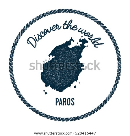 Tasmania map vintage discover world rubber vectores en stock paros map in vintage discover the world rubber stamp hipster style nautical postage paros stamp gumiabroncs Choice Image