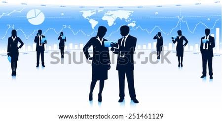 partnership - stock vector