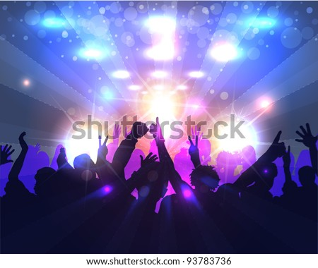 Party Background Vector Design
