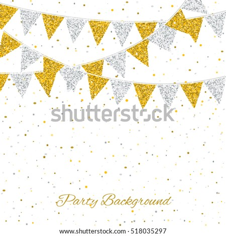 Party Background Flags Can Be Used Stock Vector 518035297 Shutterstock