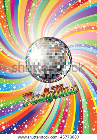 Party Time Vector Illustration - stock vector