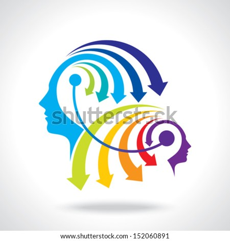 passing idea concept - stock vector