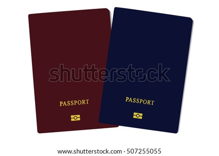 Passport Icon Vector