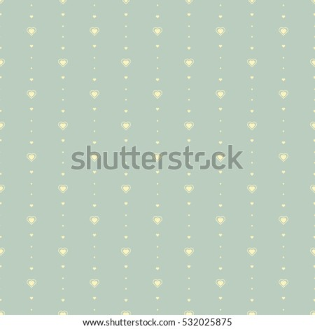 Pastel Little Heart Seamless Pattern