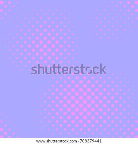 Pastel Purple And Pink Color Halftone Vector Background Candy Girl Pale