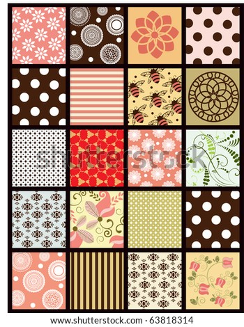 patchwork quilt 1 of 2