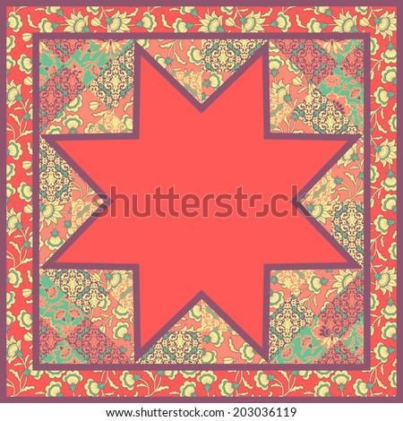 Barn Raising Quilt Pattern Free Knitting : QUILTED MITTENS PATTERN FREE Quilt Pattern