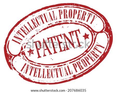Patent icon - stock vector