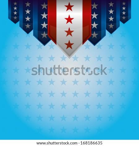 Patriotic Banner - stock vector