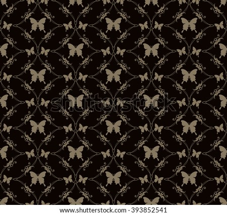 pattern,design pattern,pattern design,pattern background,pattern vector,background pattern,damask pattern,vintage pattern,seamless pattern,vector pattern,floral pattern,butterfly pattern,black pattern - stock vector
