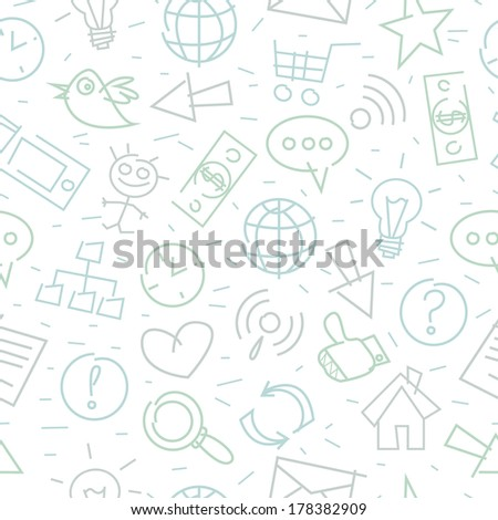 Pattern doodle internet companionship ideas