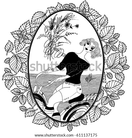 Vintage Bicycle Coloring Pages