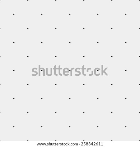 Pattern geometric seamless monochrome minimalistic dots - stock vector