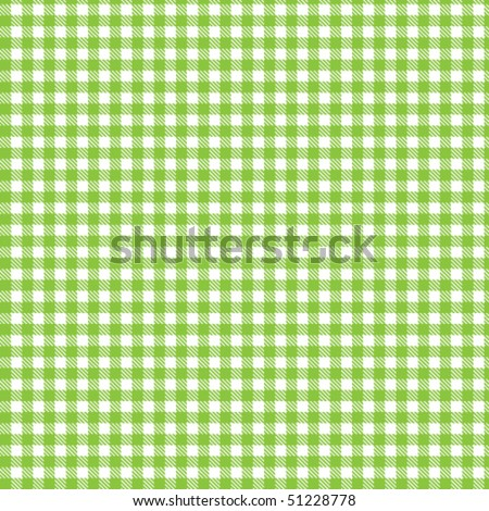 Pattern picnic green - stock vector