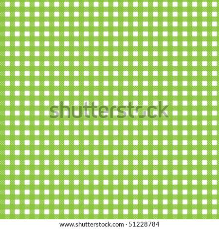 Pattern picnic green - stock vector