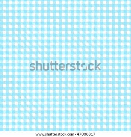 Pattern picnic sky-blue - stock vector