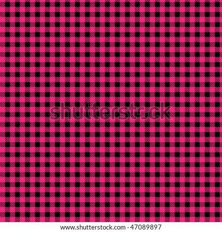 Pattern punk black fuchsia - stock vector