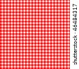 Pattern red picnic - stock photo