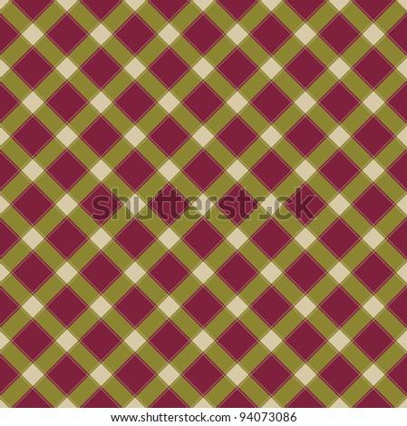 Pattern retro tablecloth texture - stock vector