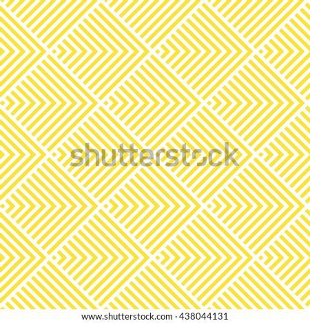 Pattern Stripes Seamless Yellow White Stripes Stock Vector 438044131 ...