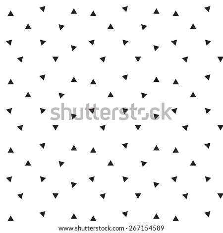 Pattern triangle - stock vector