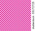 Pattern vector picnic pink - stock photo