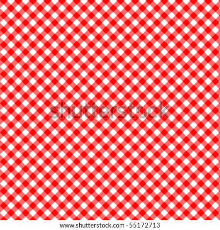 Pattern vector picnic red - stock vector