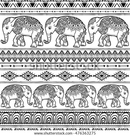 Colourful Elephant Stock Images Royalty Free Images Vectors
