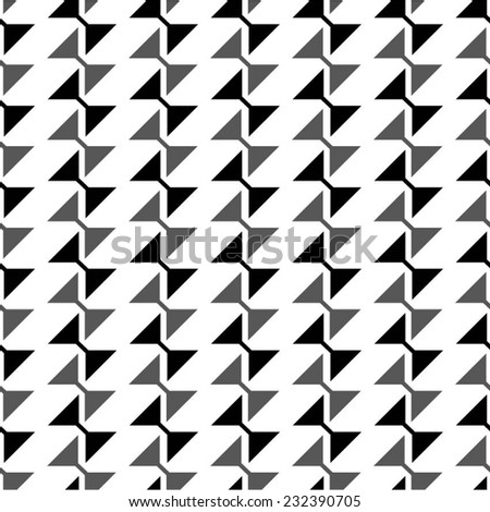 Pattern with triangles, vertical image. - stock vector