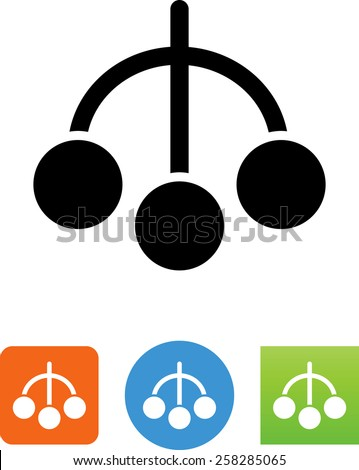 Pawn symbol for download. Vector icons for video, mobile apps, Web sites and print projects.  - stock vector