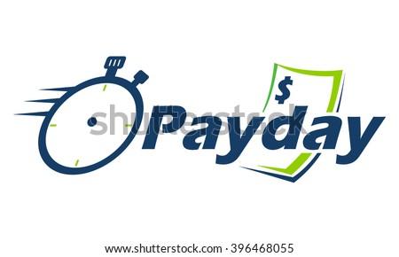 Payday Logo Emblem - stock vector