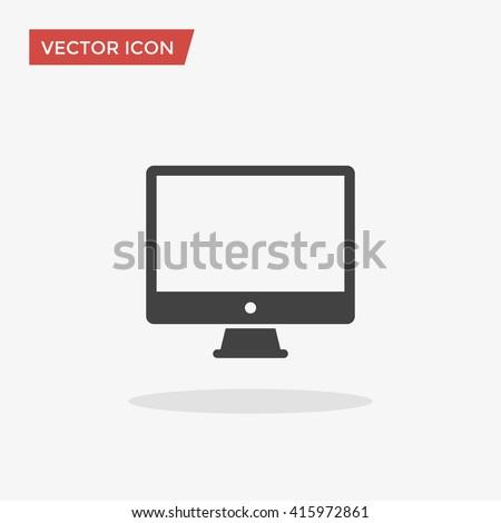 PC Icon, PC Icon Vector, PC Icon Flat, PC Icon Sign, PC Icon App, PC Icon UI, PC Icon Art, PC Icon Image, PC Icon Web, PC Icon Grey, PC Icon JPG, PC Icon JPEG, PC Icon EPS, PC Icon Picture - stock vector