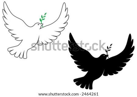 peace dove vector drawing stock photo photo vector illustration rh shutterstock com dove vector free dove vector logo