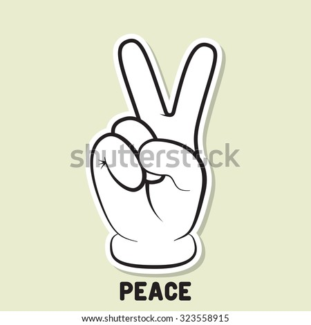 peace sign stock images royaltyfree images amp vectors