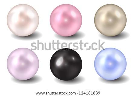 Pearl vector illustration