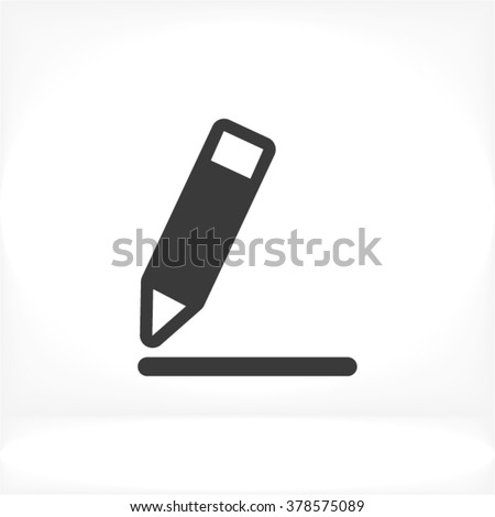 Pen Icon, pen icon flat, pen icon picture, pen icon vector, pen icon EPS10, pen icon graphic, pen icon object, pen icon JPEG, pen icon picture, pen icon image, pen icon drawing, pen icon illustration - stock vector