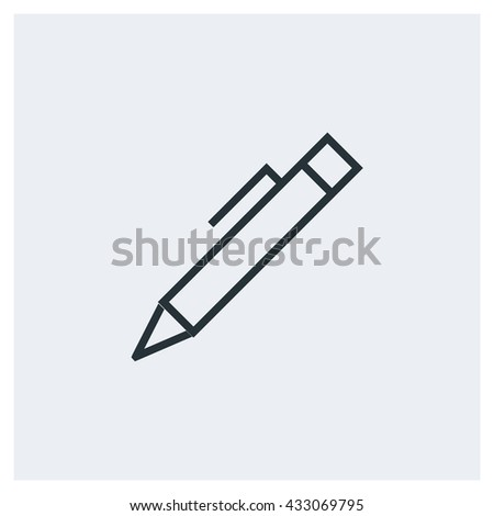 Pen Icon, Pen Icon UI, Pen Icon Vector, Pen Icon Eps, Pen Icon Jpg, Pen Icon Picture, Pen Icon Flat, Pen Icon App, Pen Icon Web, Pen Icon Art, Pen Icon Object, Pen Icon Eps10 - stock vector