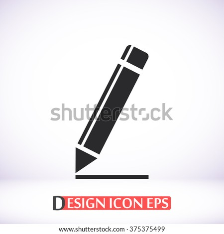 Pen icon, Pen pictograph, Pen web icon, Pen icon vector, Pen icon eps, Pen icon illustration, Pen icon picture, Pen flat icon, Pen design icon, Pen icon art, Pen icon jpg, Pen icon object. - stock vector
