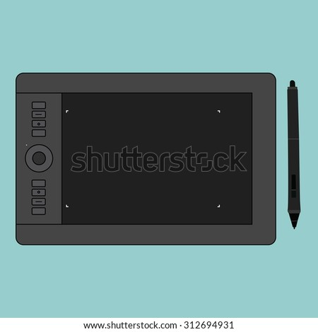 Pen tablet Cartoon
