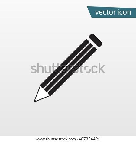 Pencil flat. Pencil Icon Vector. Pencil Icon JPEG. Pencil Icon Picture. Pencil Icon Image. Pencil Icon Graphic. Pencil Icon Art. Pencil Icon JPG. Pencil Icon EPS. Pencil Icon AI. Pencil Icon Drawing - stock vector