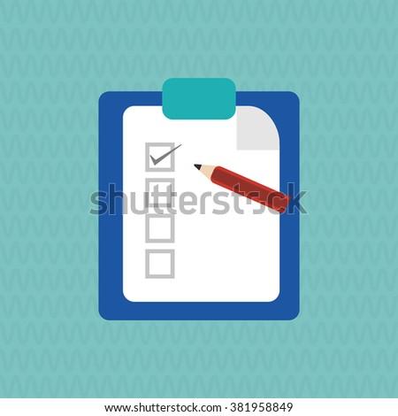 pencil icon design  - stock vector
