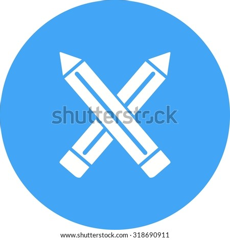 Pencil, sharp, pencils icon vector image.Can also be used for art and designing. Suitable for mobile apps, web apps and print media.