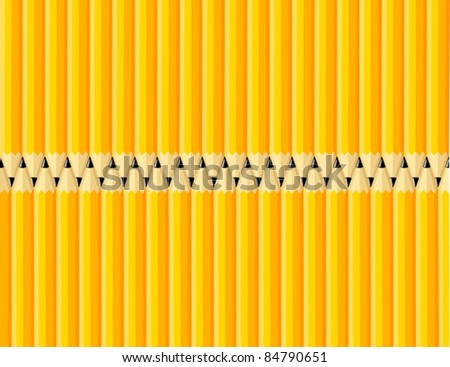 Pencils Background - Vector Illustration. (high resolution JPEG also available). - stock vector