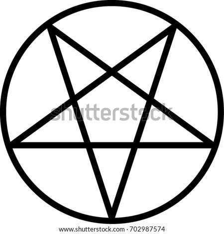 pentagram vector icon isolated vector illustration stock vector hd rh shutterstock com pentagram vector download pentagram vector free download