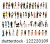 People - stock vector