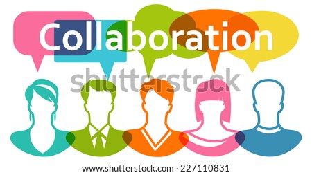 People Collaboration - stock vector