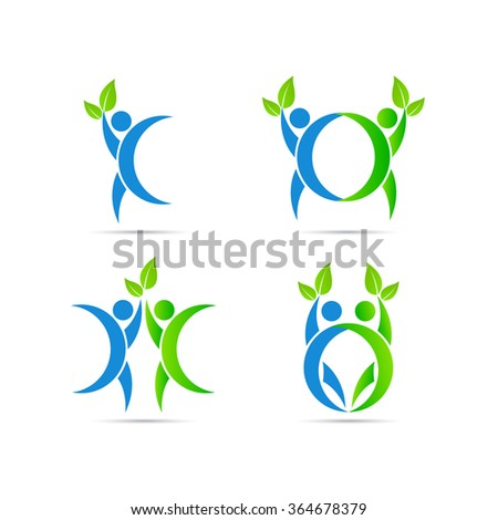 People design vector isolated on white background.