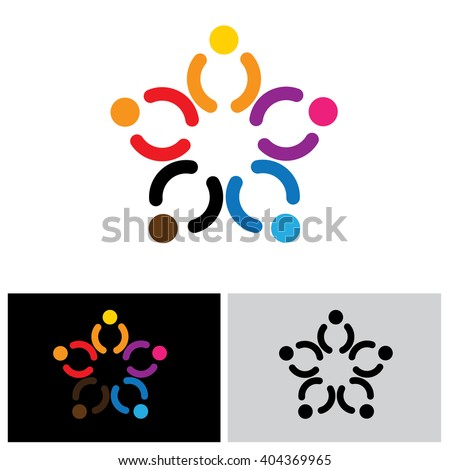 people group icon, people group icon vector, people group icon eps 10, people group icon logo, people group icon sign, team icon, unity icon, joy icon, happiness icon, together icon, group icon - stock vector
