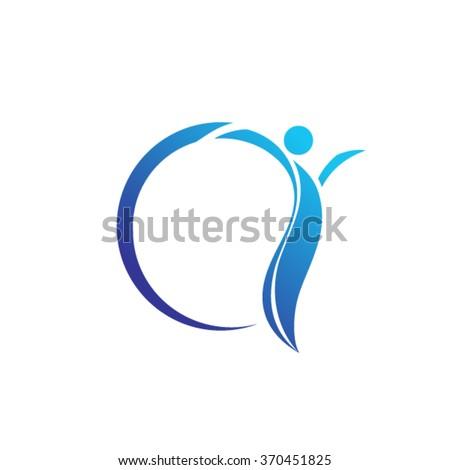 People Logo Design Template  - stock vector