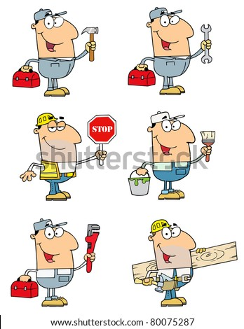People Of Different Professions-Vector Collection 1 - stock vector